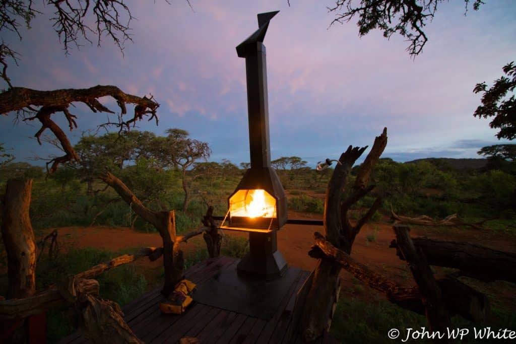 The Braai/BBQ at Kameeldoring Treehouse